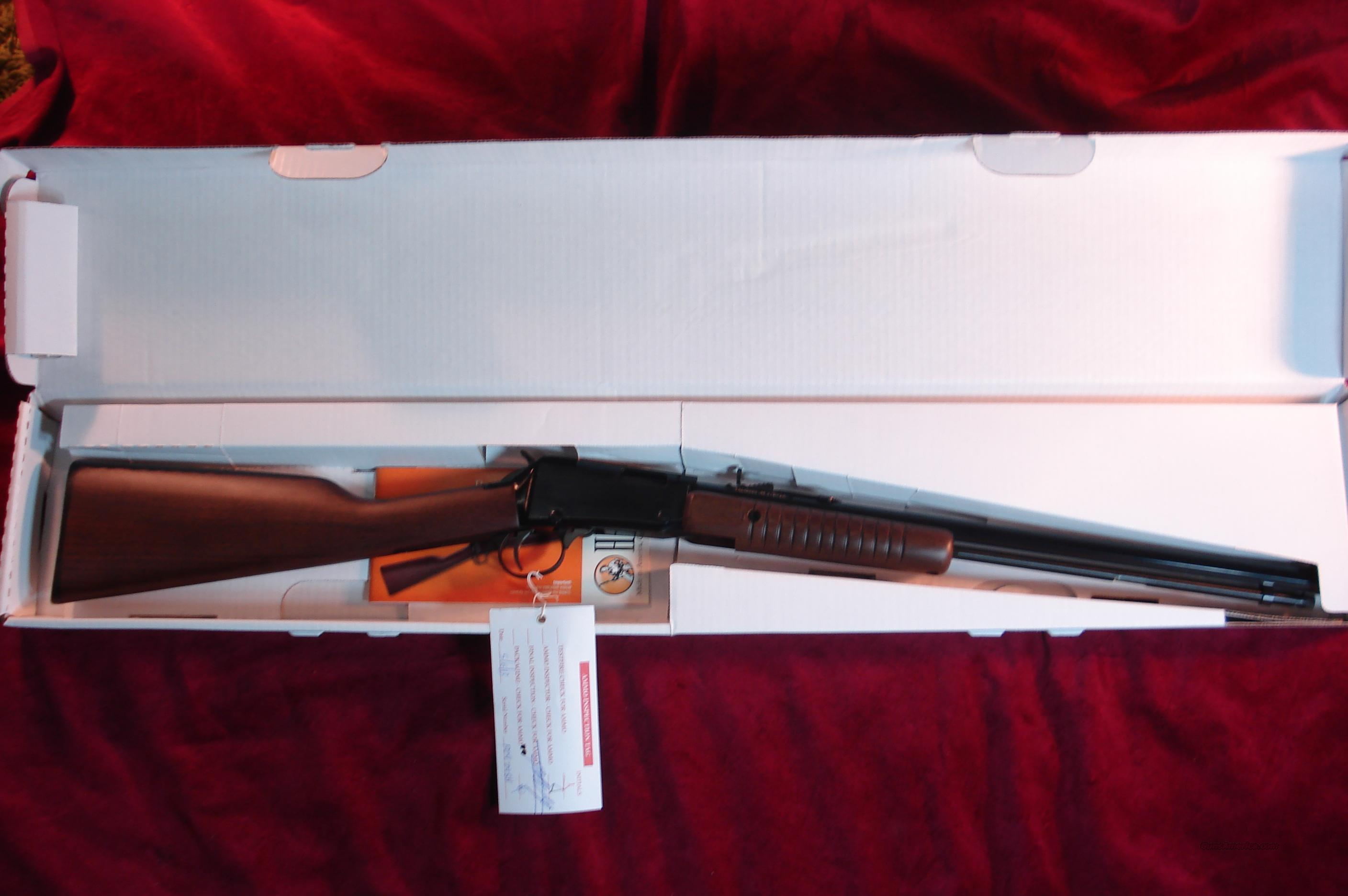 HENRY PUMP ACTION .22 CAL. OCTAGON BARREL NEW  Guns > Rifles > Henry Rifle Company