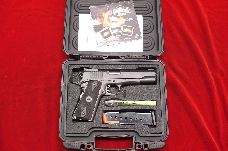 ROCK ISLAND 1911 FS MATCH  45ACP PARKERIZED ADJUSTABLE SIGHTS NEW  (51434)  Guns > Pistols > Rock Island Armory Pistols > Rock Island