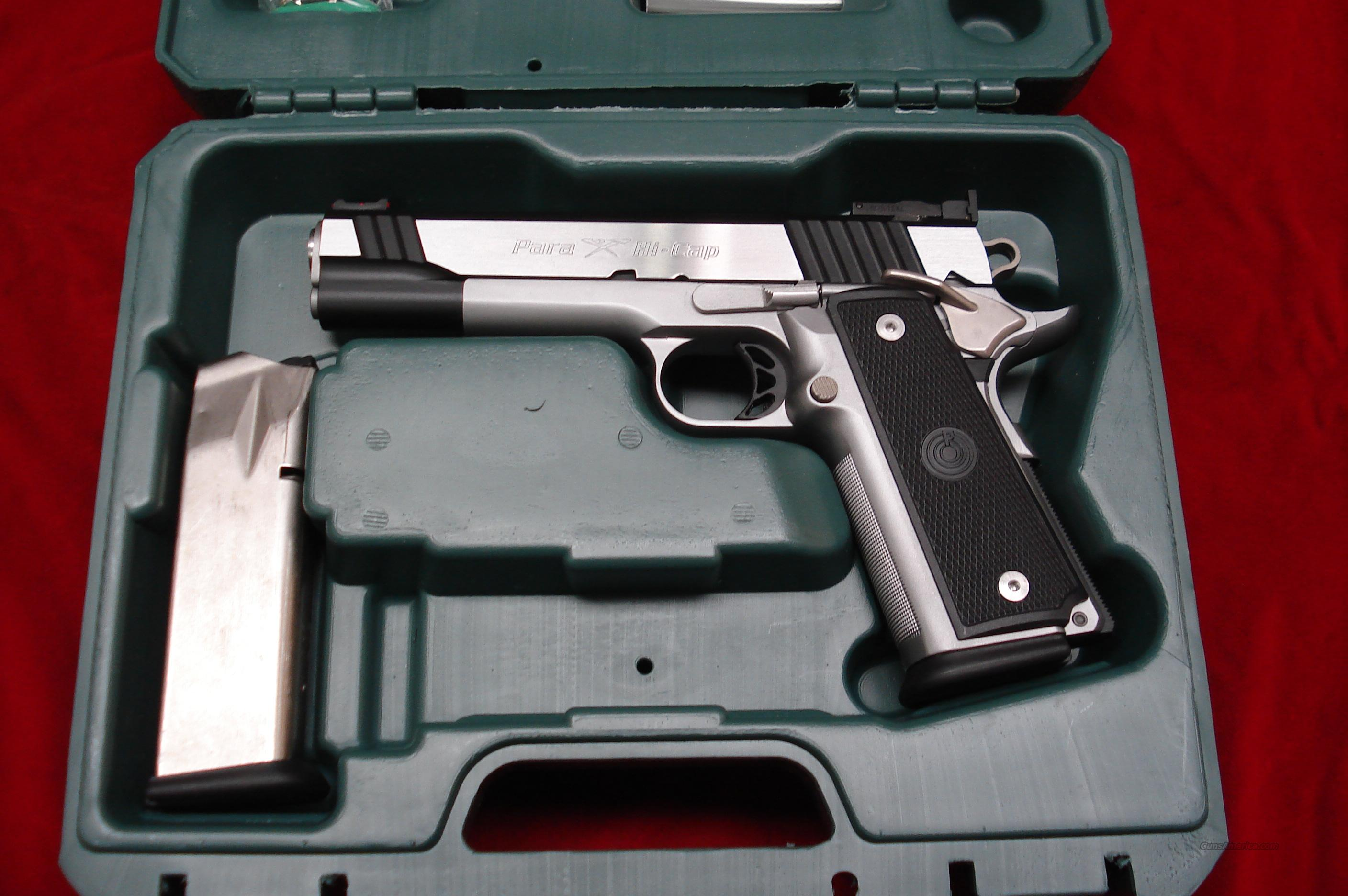 Para Ordnance Stainless P14 45 Limited High Cap For Sale