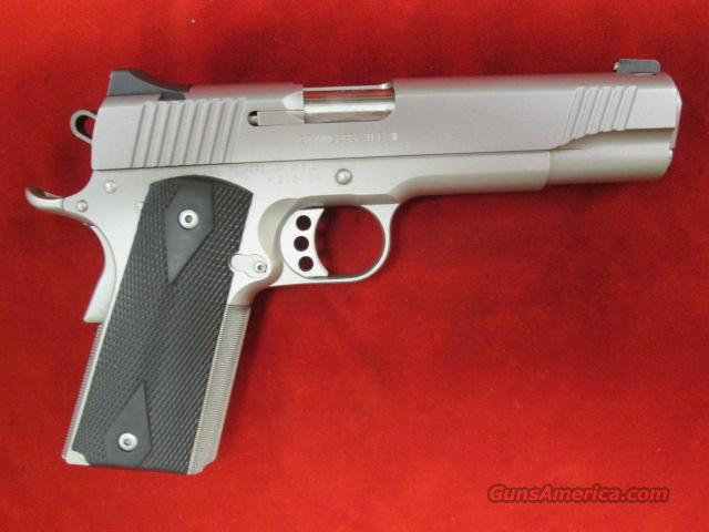 KIMBER STAINLESS TLE II 45ACP USED  Guns > Pistols > Kimber of America Pistols