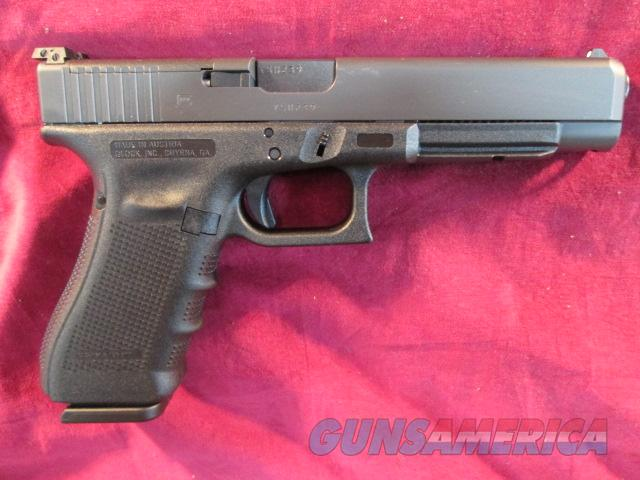 GLOCK 35 GEN 4 M.O.S 40 CAL WITH GLOCK MODULAR OPTIC SYSTEM NEW  Guns > Pistols > Glock Pistols > 35