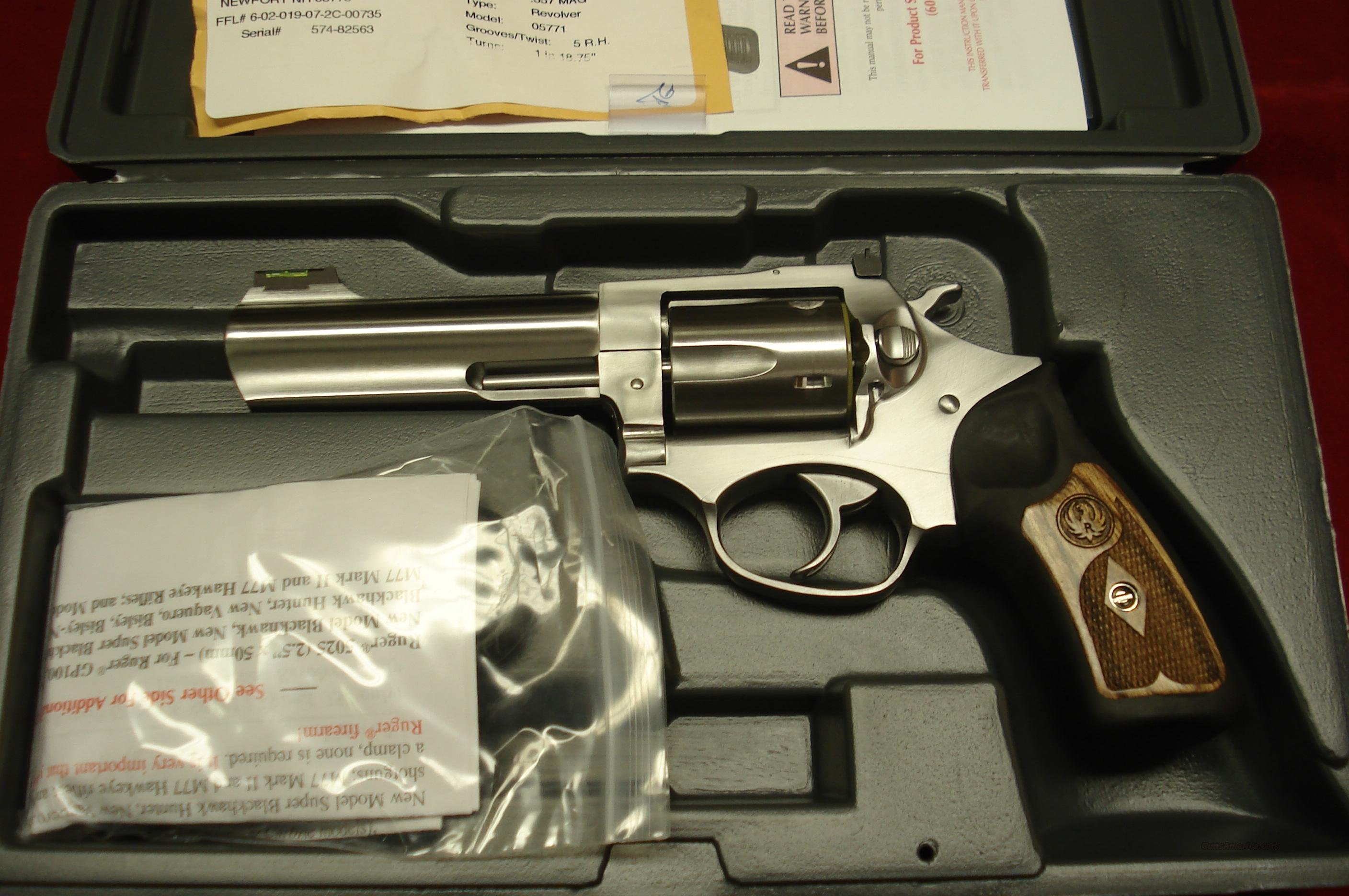 "RUGER SP101 4.2"" 357CAL. STAINLESS (KSP-341X) NEW  Guns > Pistols > Ruger Double Action Revolver > SP101 Type"