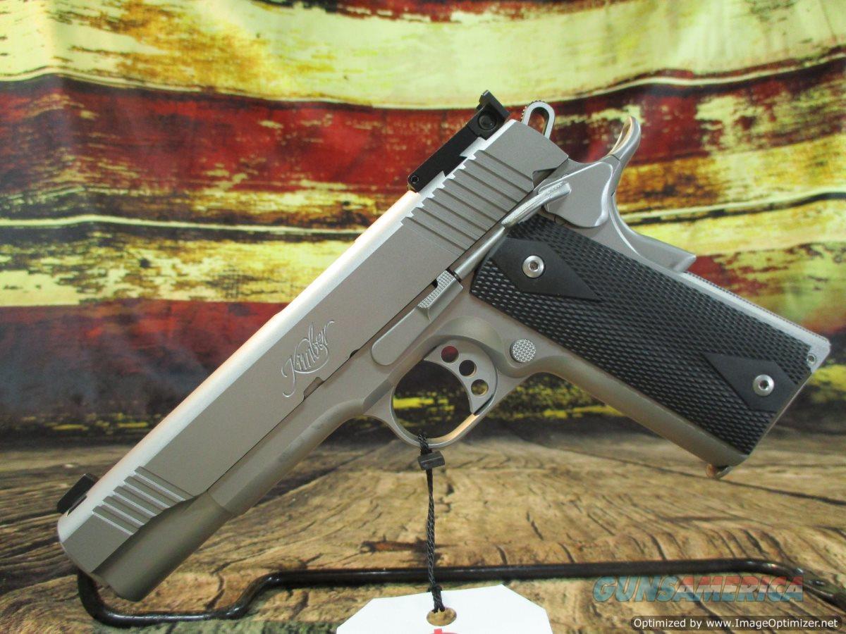 "Kimber 45 ACP Stainless Target II 5"" New (3200008)  Guns > Pistols > Kimber of America Pistols > 1911"