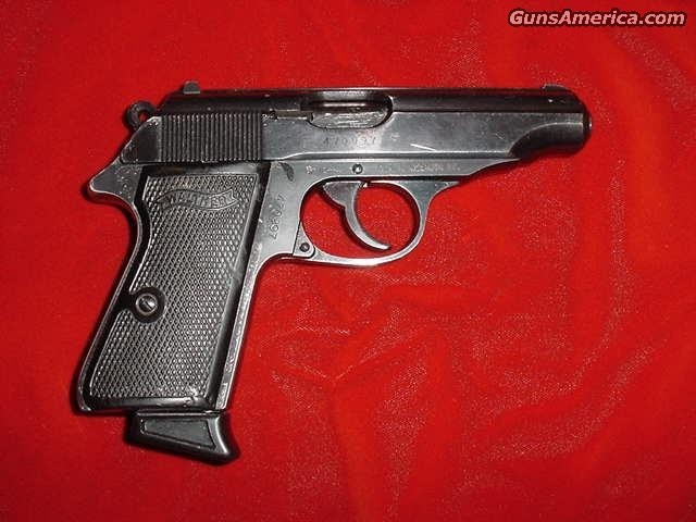 WALTHER GERMAN PP 32ACP  Guns > Pistols > Walther Pistols