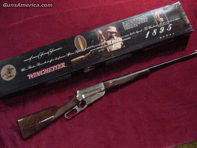 WINCHESTER 1895 HIGH GRADE 30-06  Guns > Rifles > Winchester Rifles - Modern Lever