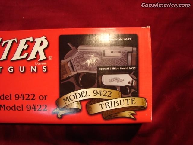9422 LEGACY TRIBUTE EDITION  Guns > Rifles > Winchester Rifles - Modern Lever