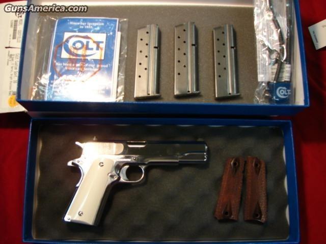 COLT CUSTOM GOVT. 38 SUPER  Guns > Pistols > Colt Automatic Pistols (1911 & Var)
