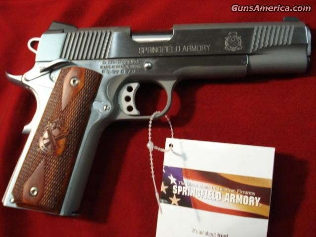SPRINGFIELD ARMORY 9MM STAINLESS LOADED (PX9130L)  Guns > Pistols > Springfield Armory Pistols > 1911 Type