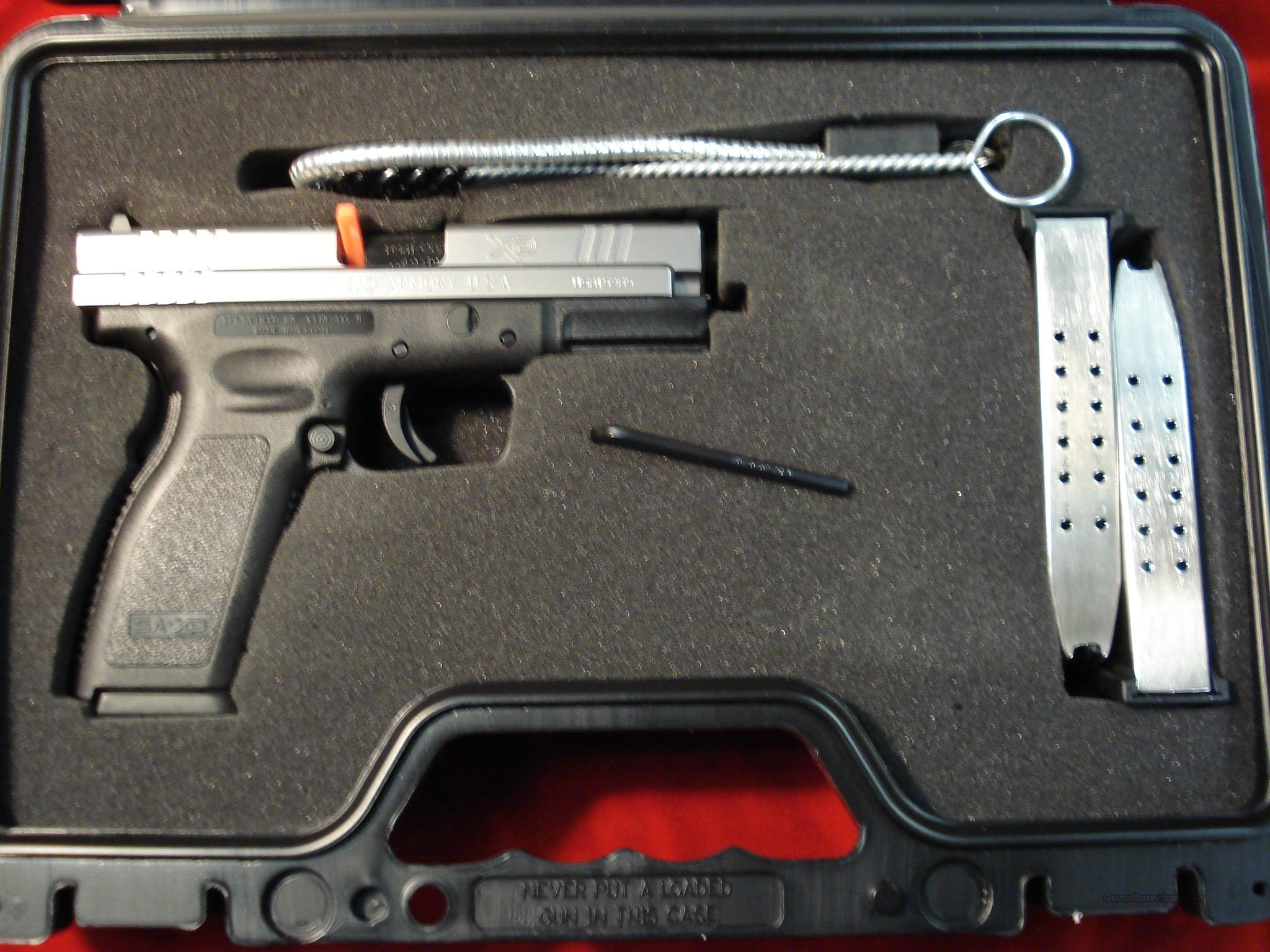 SPRINGFIELD ARMORY XD-9 BI-TONE HIGH CAP PACKAGE  Guns > Pistols > Springfield Armory Pistols