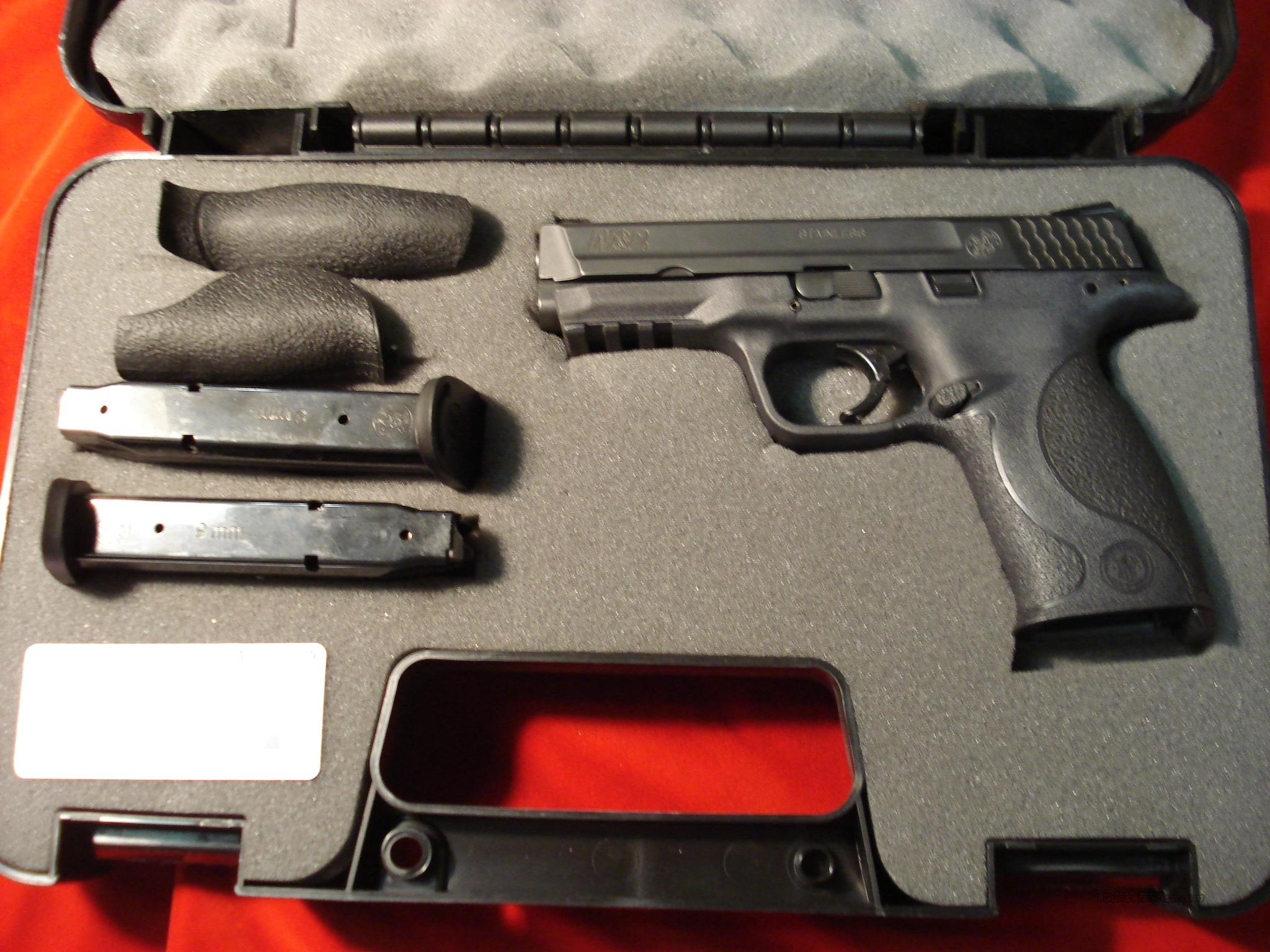 SMITH AND WESSON M&P 9MM HIGH/CAP  Guns > Pistols > Smith & Wesson Pistols - Autos > Polymer Frame