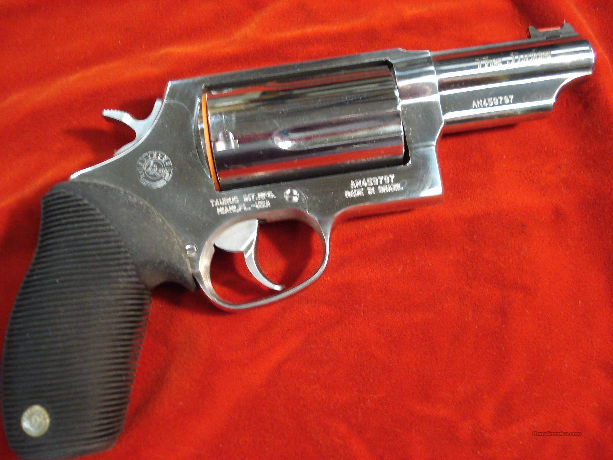 TAURUS M44-TEN 410G REVOLVER POLISHED STAINLESS  Guns > Pistols > Taurus Pistols/Revolvers > Revolvers