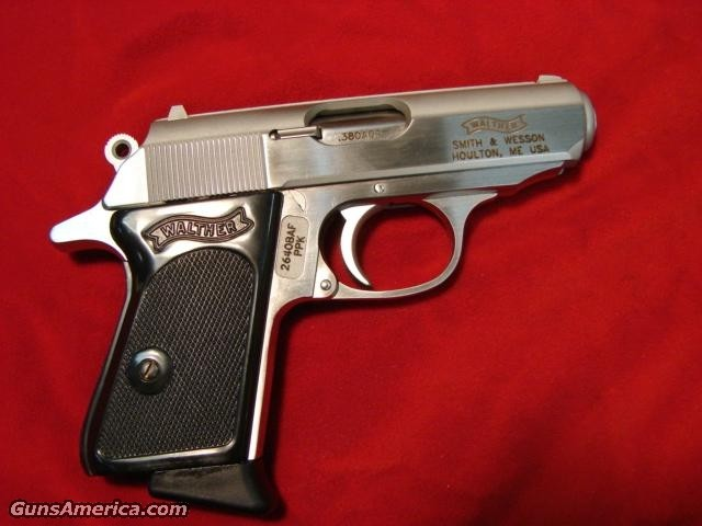 WALTHER PPK 380CAL. STAINLESS  Guns > Pistols > Walther Pistols > Post WWII > PP Series