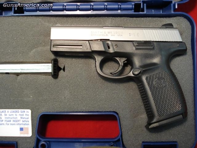 SMITH AND WESSON SIGMA STAINLESS 9MM  Guns > Pistols > Smith & Wesson Pistols - Autos > Polymer Frame