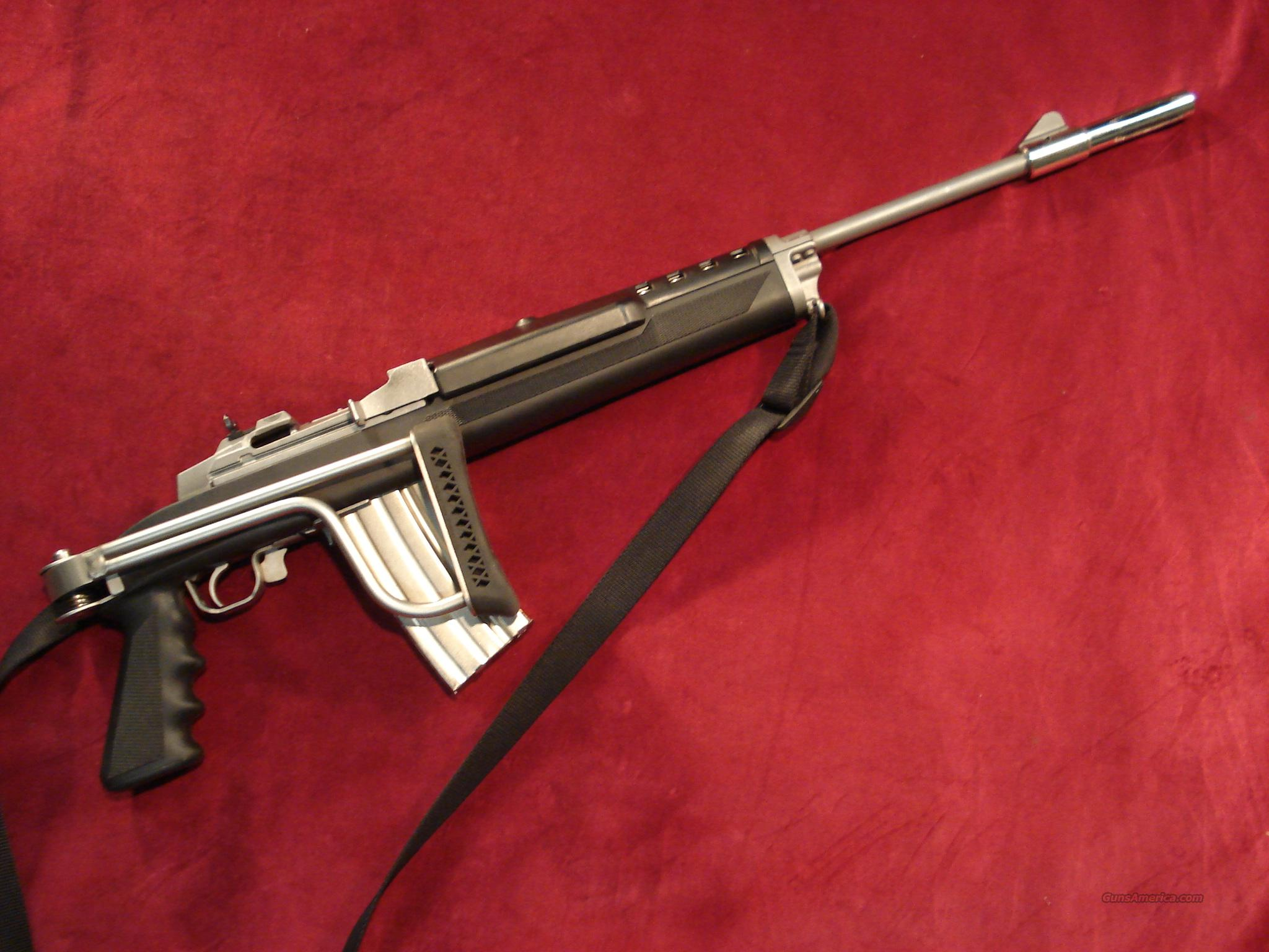 RUGER MINI 14 STAINLESS RANCH 223CAL. IN BUTLER CREEK FOLDING STOCK   Guns > Rifles > Ruger Rifles > Mini-14 Type