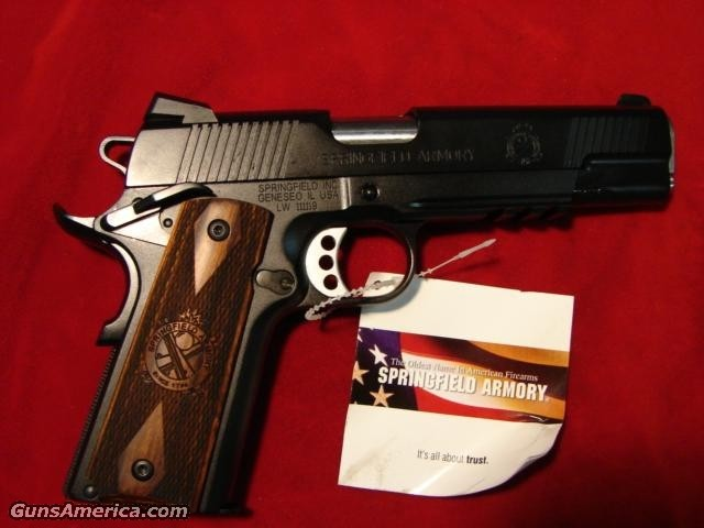 SPRINGFIELD ARMORY LOADED LW OPERATOR (PX9116LP)  Guns > Pistols > Springfield Armory Pistols > 1911 Type