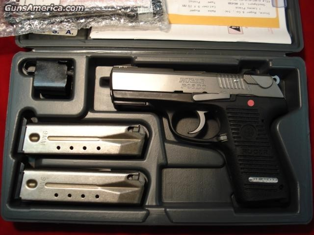 RUGER KP95DC W/RAIL  Guns > Pistols > Ruger Semi-Auto Pistols > Full Frame Autos