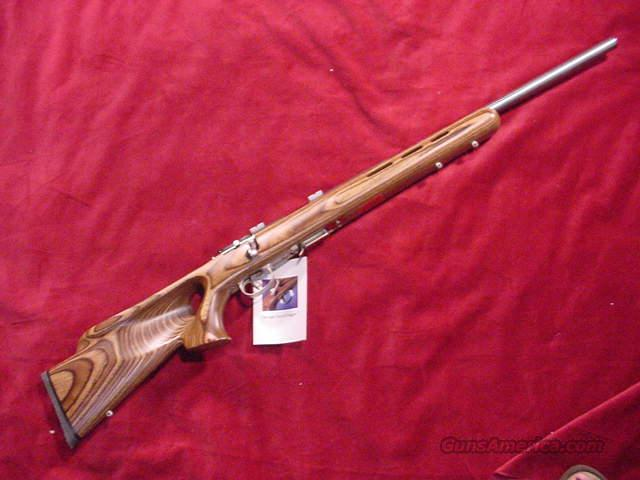 SAVAGE 17HMR STAINLESS LAM. THUMB  Guns > Rifles > Savage Rifles > Accutrigger Models