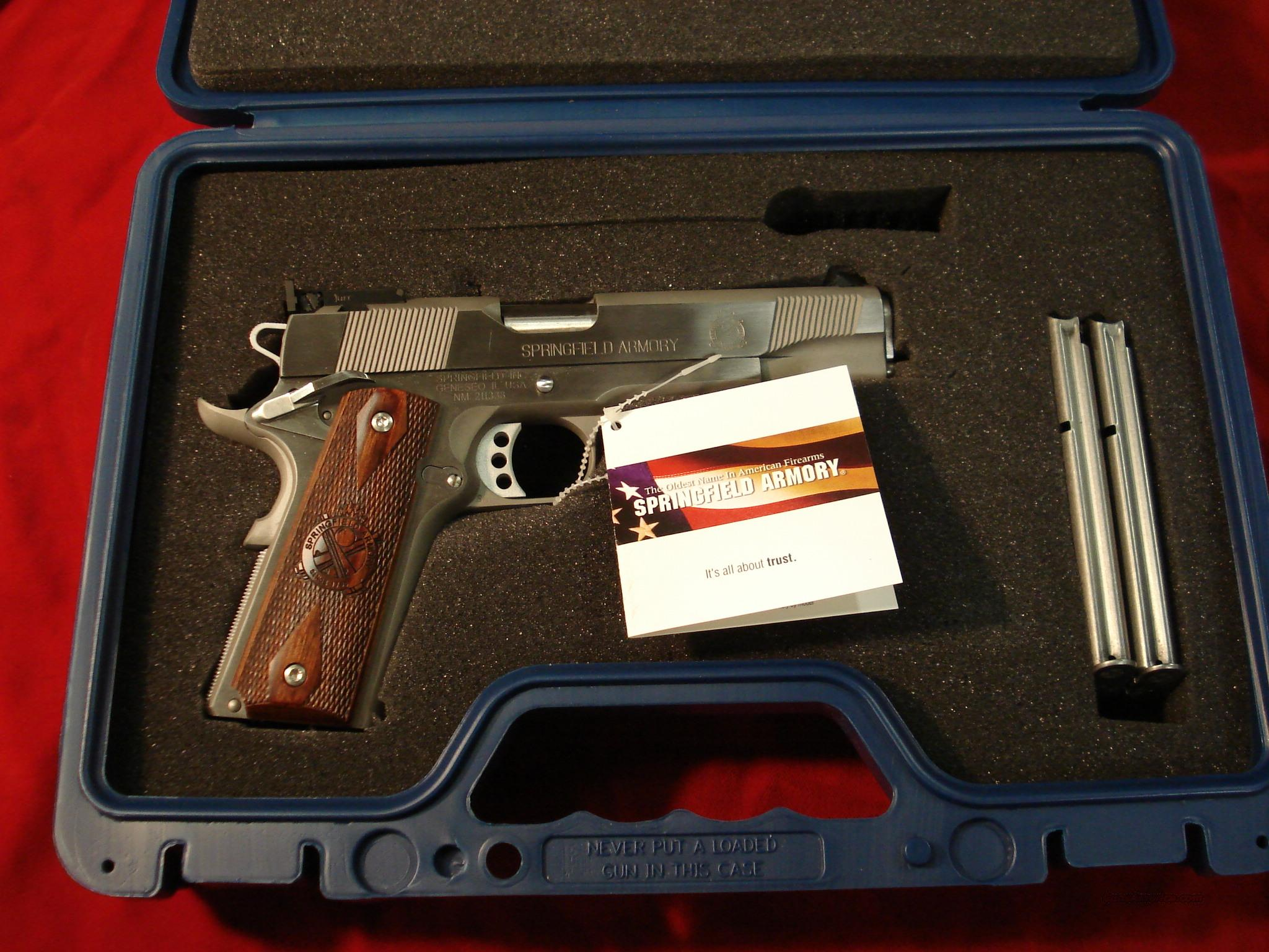 SPRINGFIELD ARMORY STAINLESS 9MM LOADED ADJ. SIGHTS (PI9134LP)   Guns > Pistols > Springfield Armory Pistols > 1911 Type