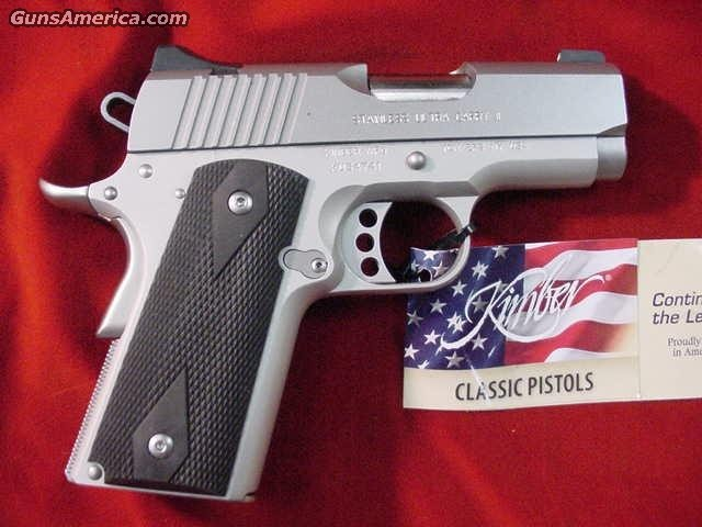 KIMBER STAINLESS ULTRA CARRY II W/NIGHT SIGHTS NEW  Guns > Pistols > Kimber of America Pistols