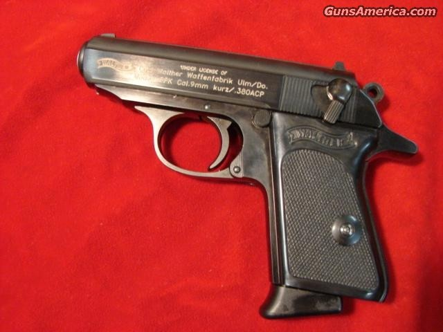 WALTHER PPK 380 CAL.BLUE  Guns > Pistols > Walther Pistols > Post WWII > PP Series