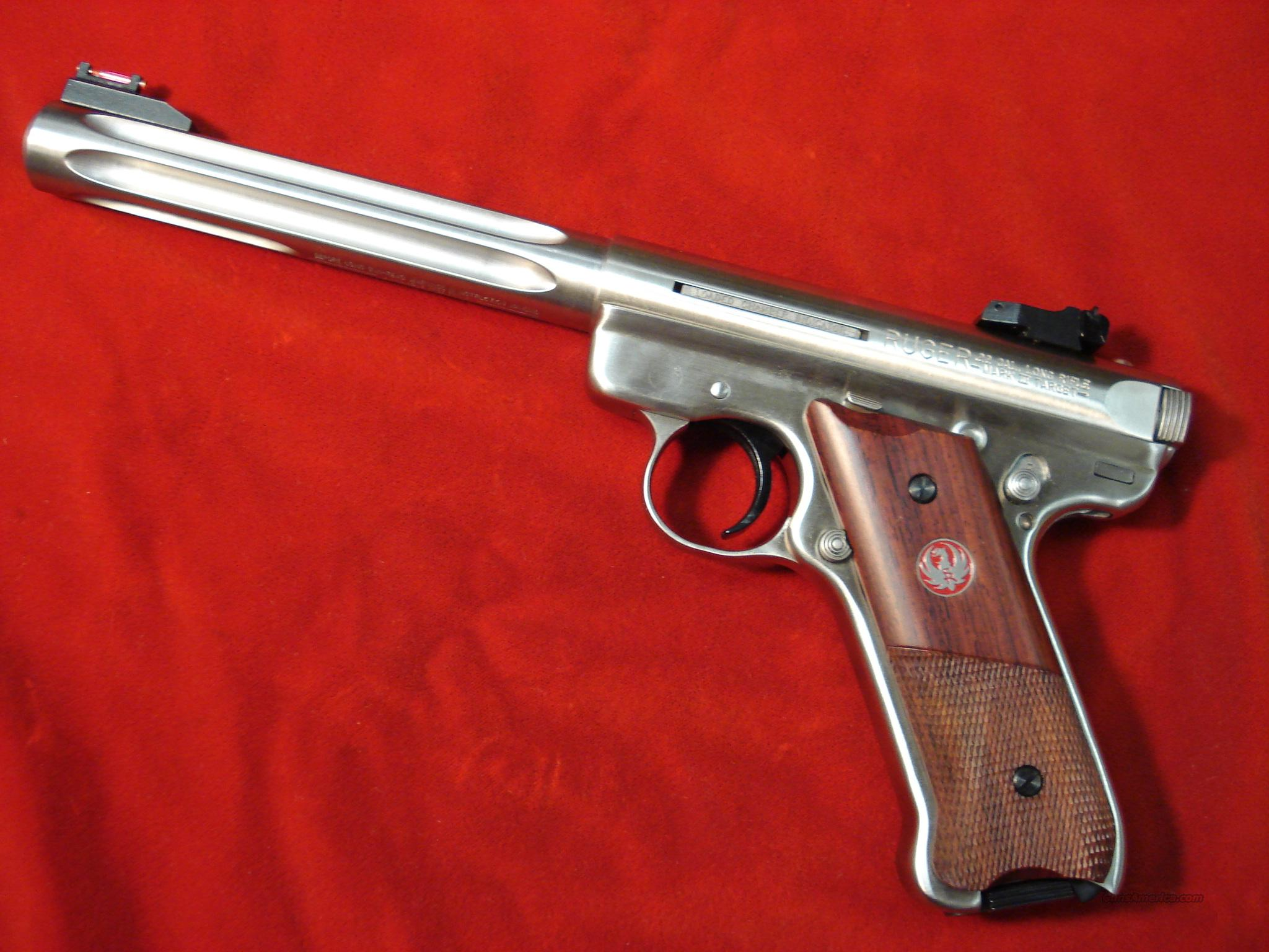 RUGER MKIII HUNTER NEW  Guns > Pistols > Ruger Semi-Auto Pistols > Mark II Family