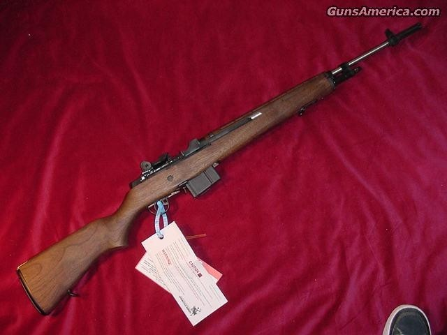 SPRINGFIELD ARMORY M1A LOADED WALNUT (MA9822)  Guns > Rifles > Springfield Armory Rifles > M1A/M14