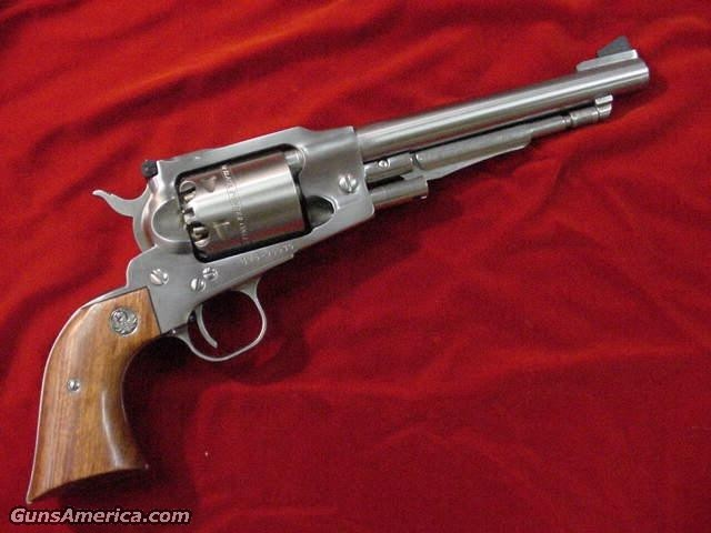"RUGER OLD ARMY REVOLVER  7.5"" STAINLESS  ADJ/SIGHT  Guns > Pistols > Ruger Cap & Ball Revolvers"