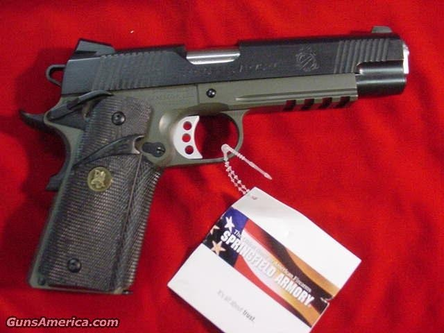 SPRINGFIELD ARMORY LOADED MC OPERATOR (PX9105ML)  Guns > Pistols > Springfield Armory Pistols > 1911 Type