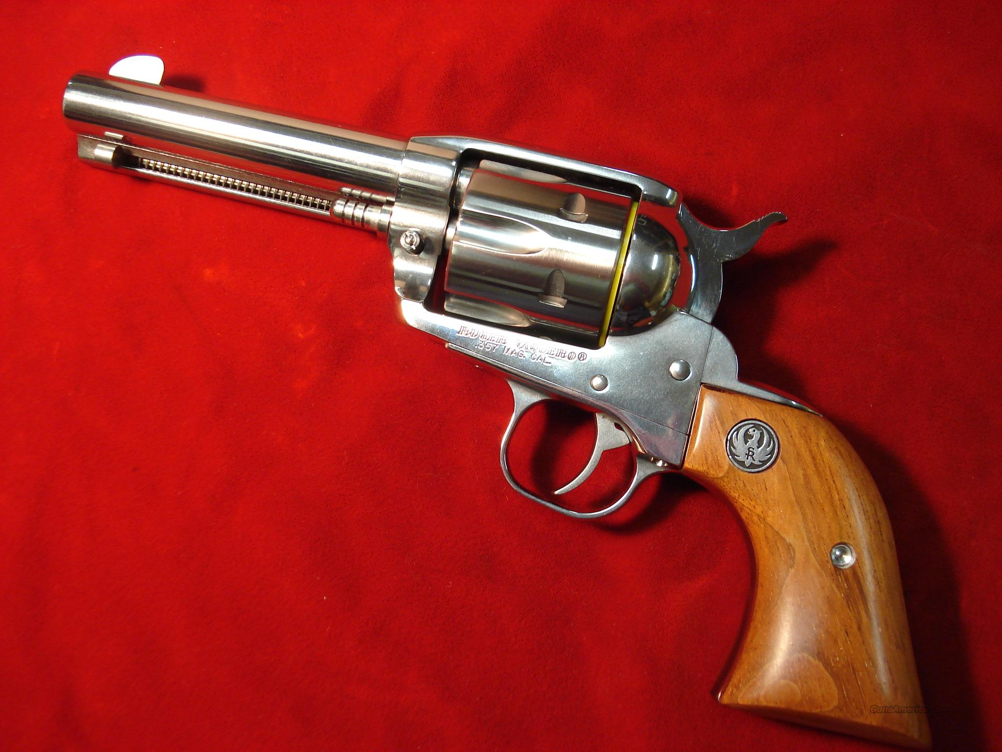 "RUGER  OLD STYLE VAQUERO 4 5/8"" STAINLESS 357MAG   Guns > Pistols > Ruger Single Action Revolvers > Cowboy Action"