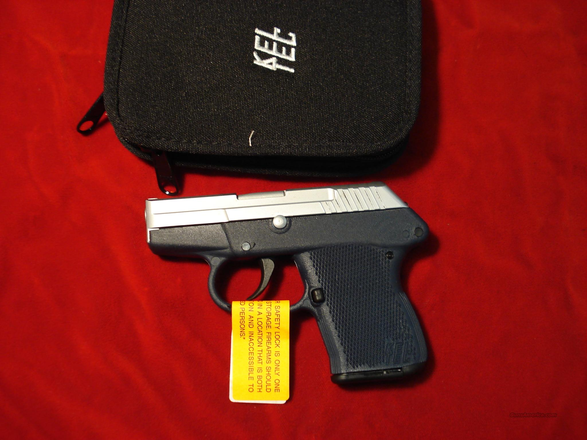KEL-TEC P32 HARD CHROME BLUE FRAME NEW   Guns > Pistols > Kel-Tec Pistols > Pocket Pistol Type