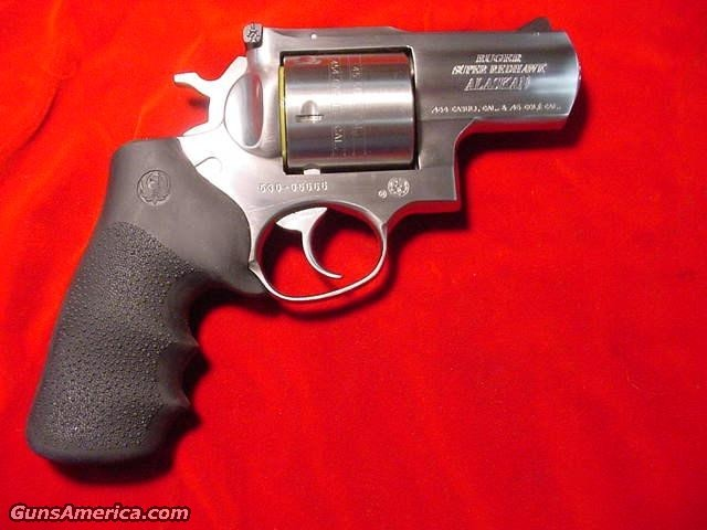RUGER SUPER REDHAWK ALASKAN 454  Guns > Pistols > Ruger Double Action Revolver > Redhawk Type
