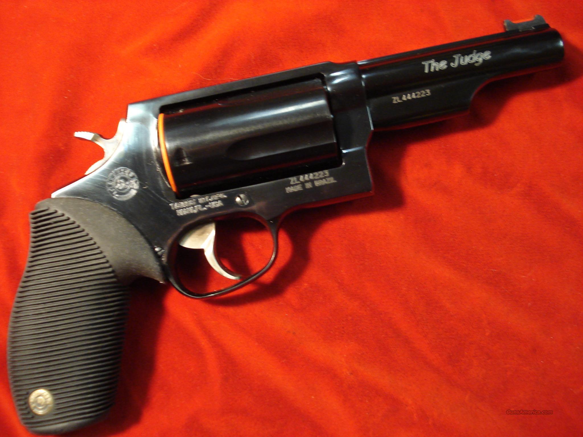 taurus 4510 tracker 410g revolver the judge for sale. Black Bedroom Furniture Sets. Home Design Ideas