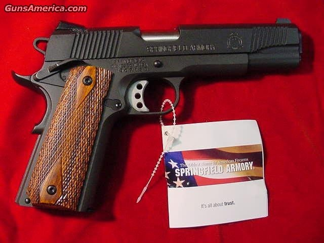 SPRINGFIELD ARMORY 1911 A1 LOADED (PX9109LP)  Guns > Pistols > Springfield Armory Pistols > 1911 Type