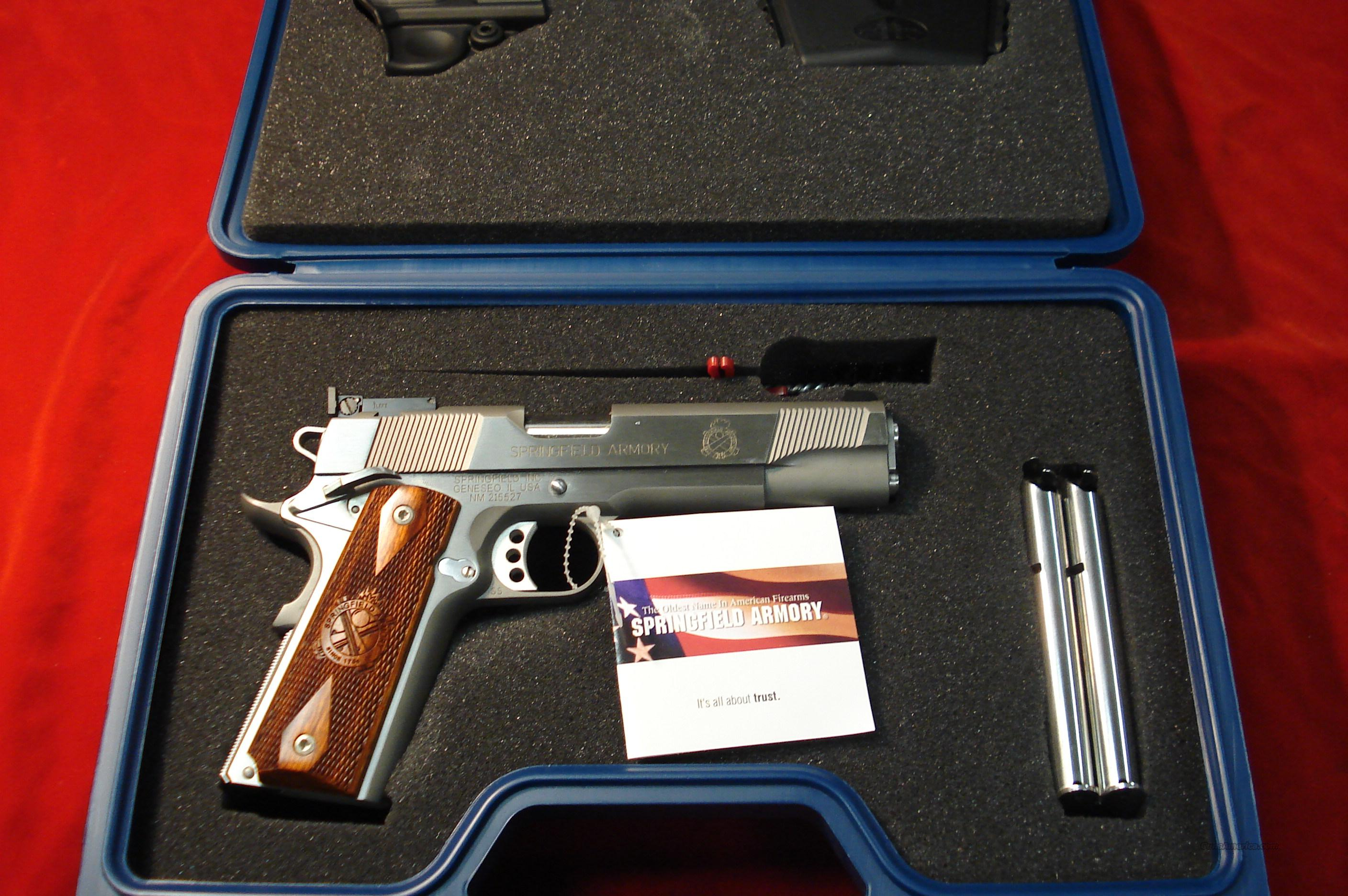 SPRINGFIELD ARMORY STAINLESS LOADED (PI9132LP)  Guns > Pistols > Springfield Armory Pistols > 1911 Type