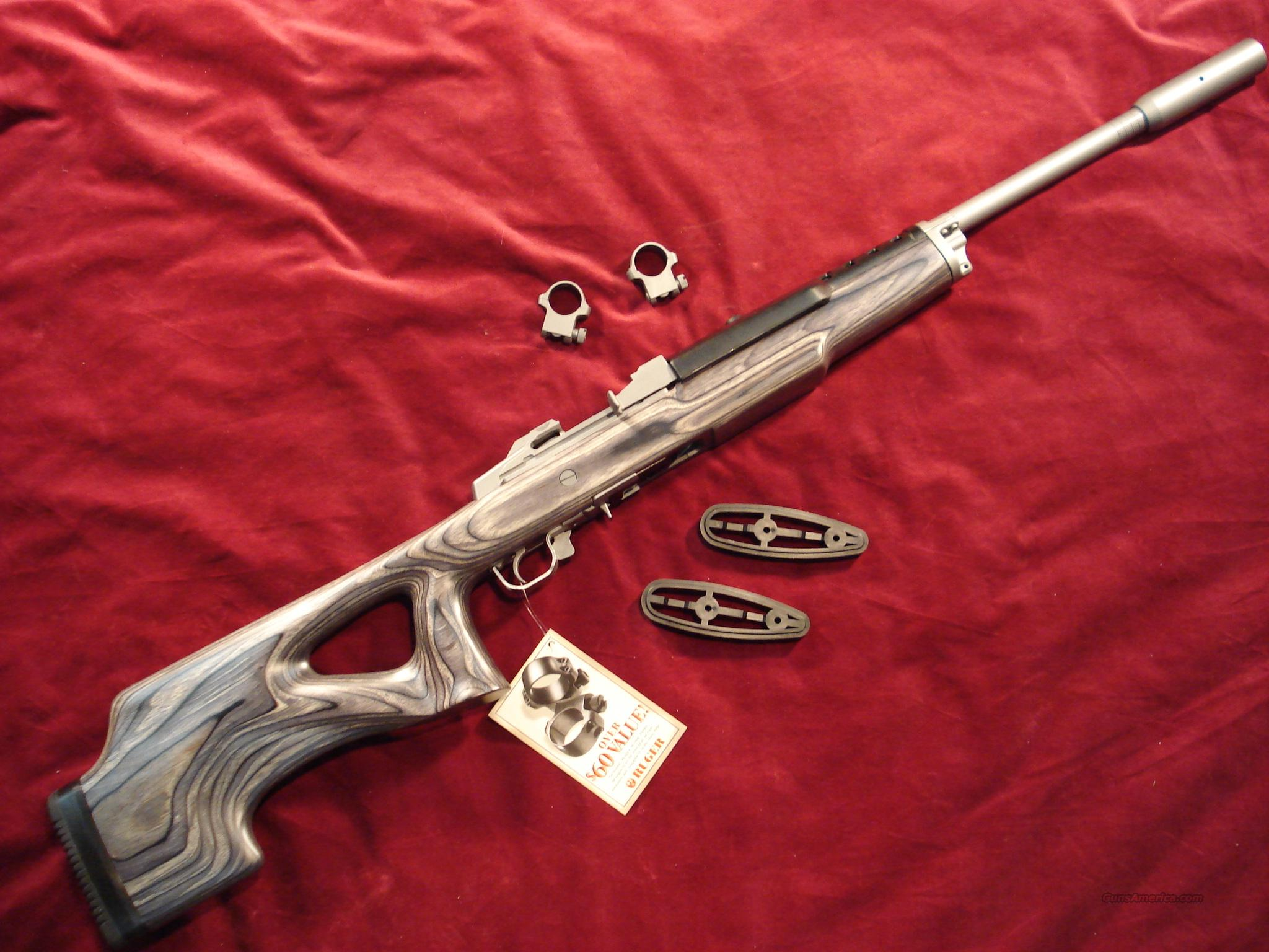 RUGER MINI 14 TARGET RIFLE  Guns > Rifles > Ruger Rifles > Mini-14 Type