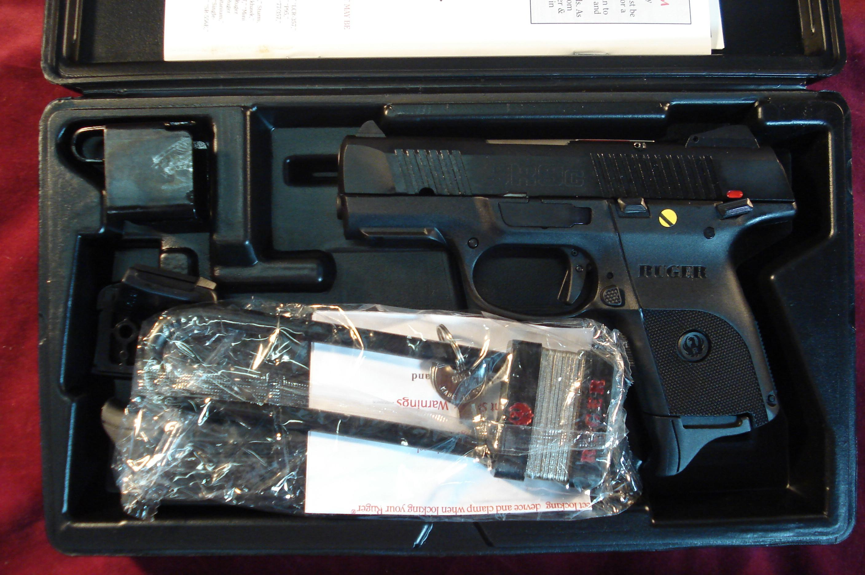 RUGER SR9C (COMPACT) BLACKENED ALLOY 10 ROUND NEW   Guns > Pistols > Ruger Semi-Auto Pistols > SR9 & SR40