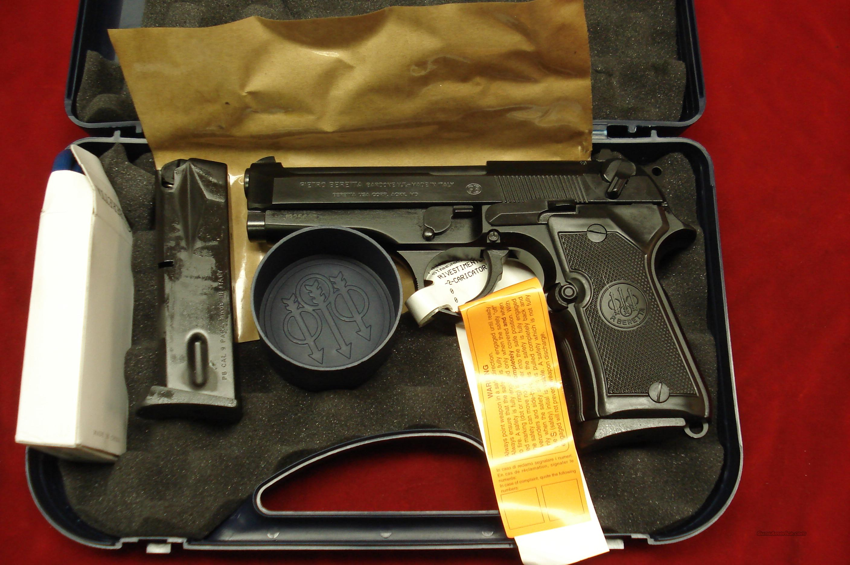 BERETTA NEW ITALIAN 92FS COMPACT 9MM CAL. HIGH CAPACITY NEW   Guns > Pistols > Beretta Pistols > Model 92 Series