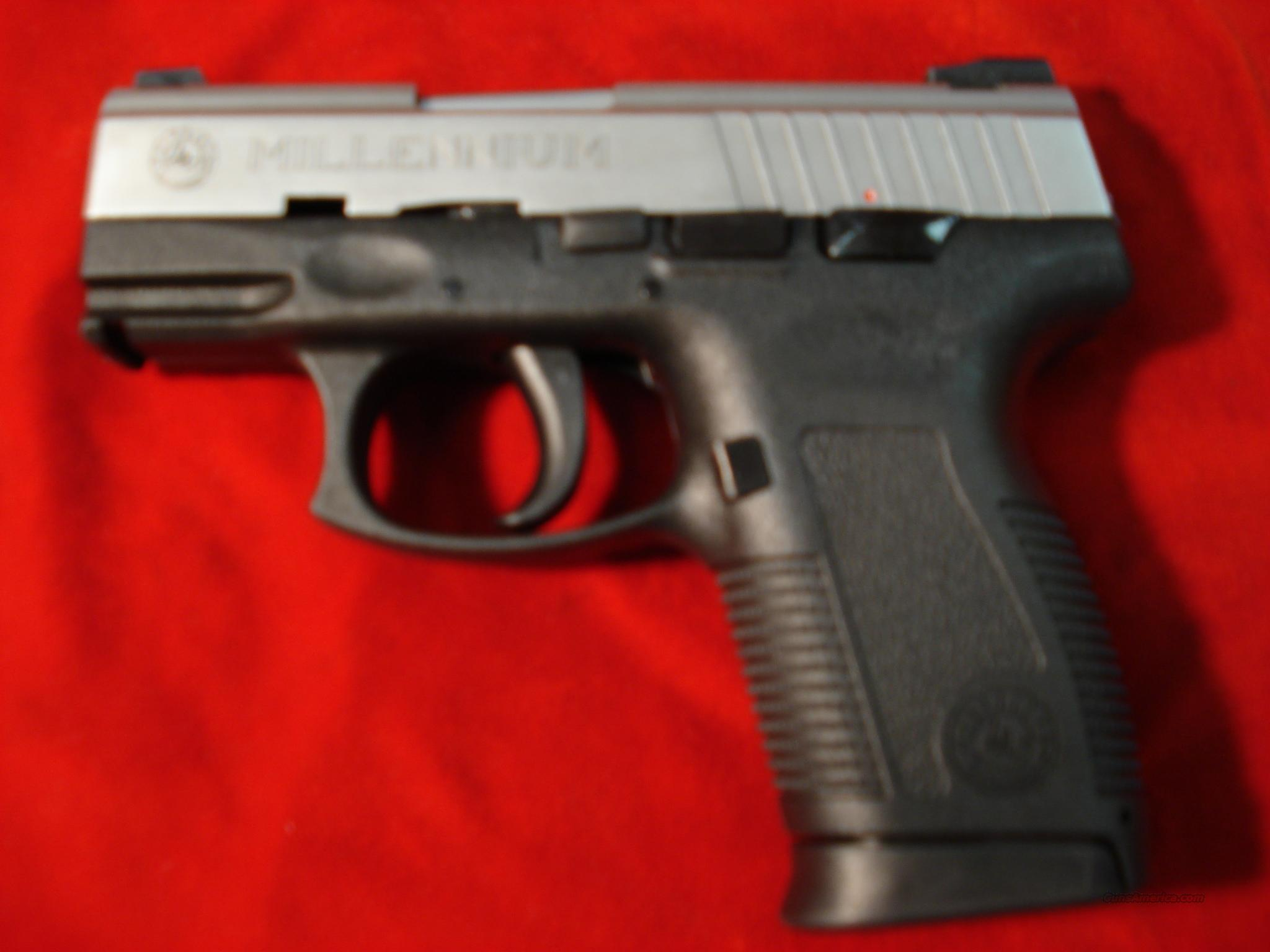 TAURUS PT145 STAINLESS MILLENNIUM PRO 45ACP NEW   Guns > Pistols > Taurus Pistols/Revolvers > Pistols > Polymer Frame