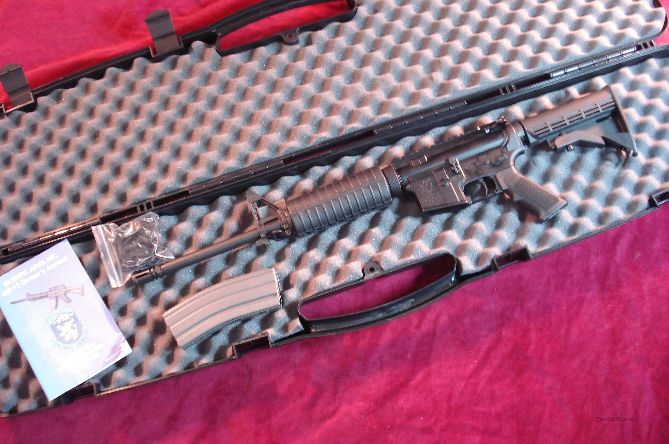 OLYMPIC ARMS K3B FLATTOP AR-15 223CAL.NEW  Guns > Rifles > Olympic Arms Rifles
