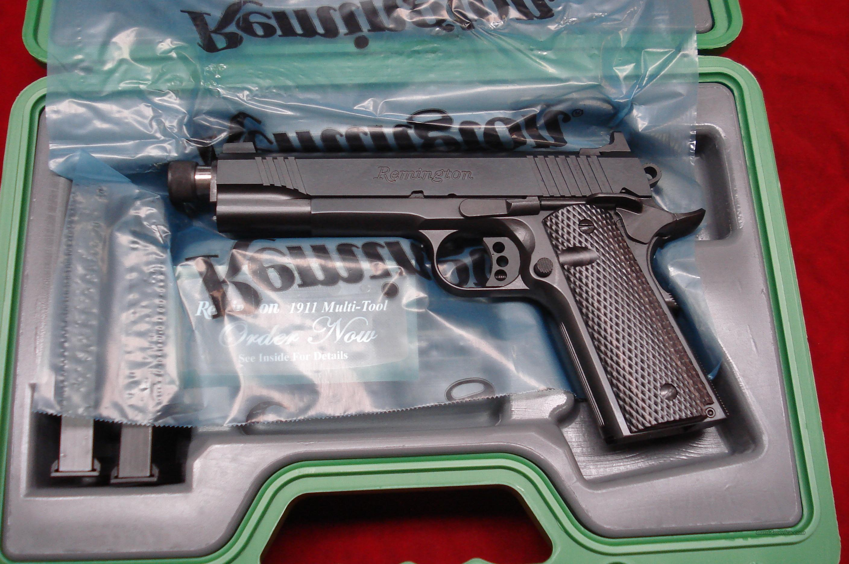 REMINGTON ENHANCED EDITION THREADED BARREL1911 R1 45ACP NEW {{ IN STOCK READY TO SHIP }}  Guns > Pistols > Remington Pistols - Modern