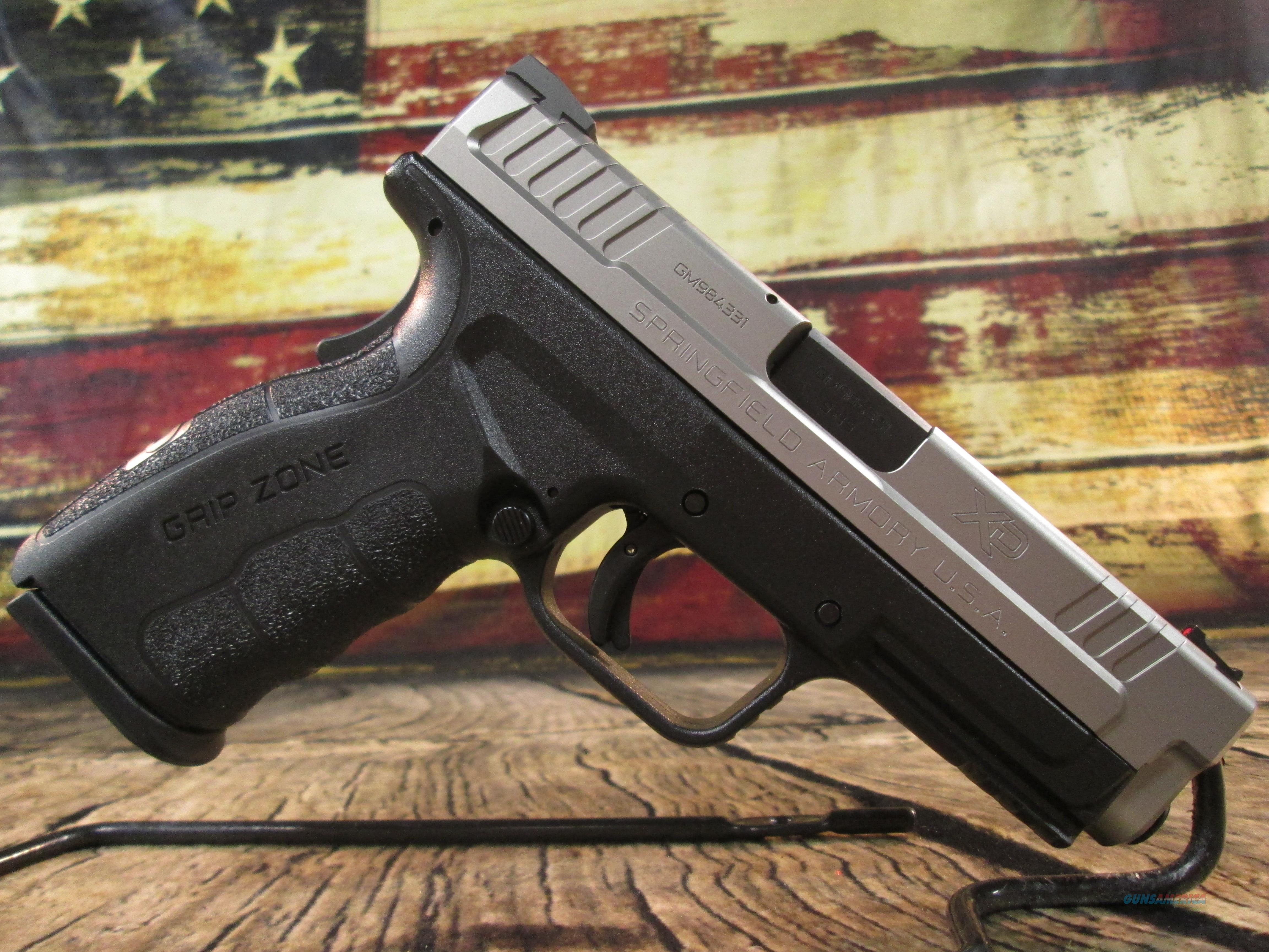"""Springfield Armory 9MM XD Mod 2 Stainless 4"""" New (XDG9301HC)  Guns > Pistols > Springfield Armory Pistols > 1911 Type"""