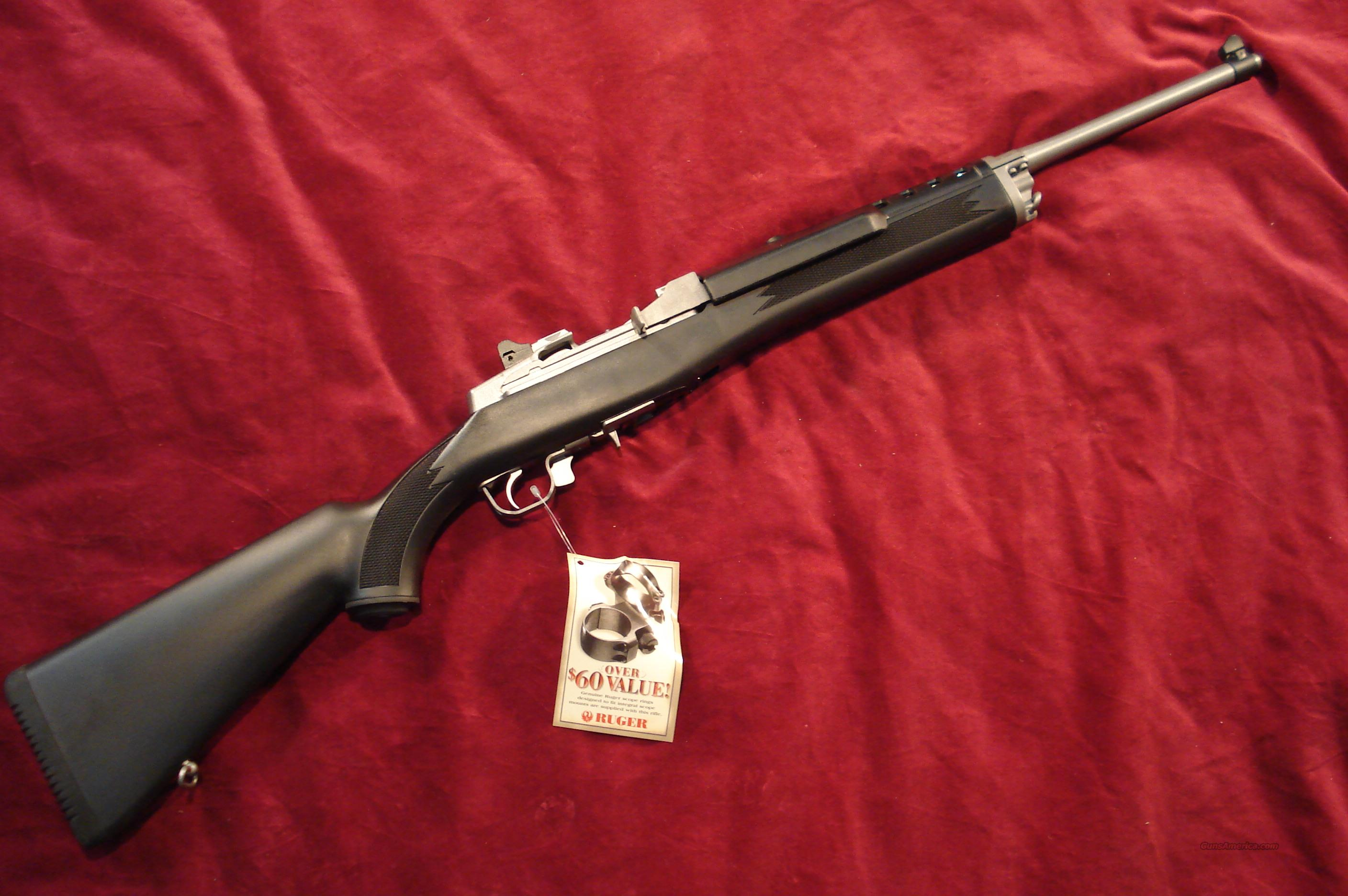 RUGER ALL WEATHER MINI 14 STAINLESS RANCH 20 ROUND NEW   Guns > Rifles > Ruger Rifles > Mini-14 Type