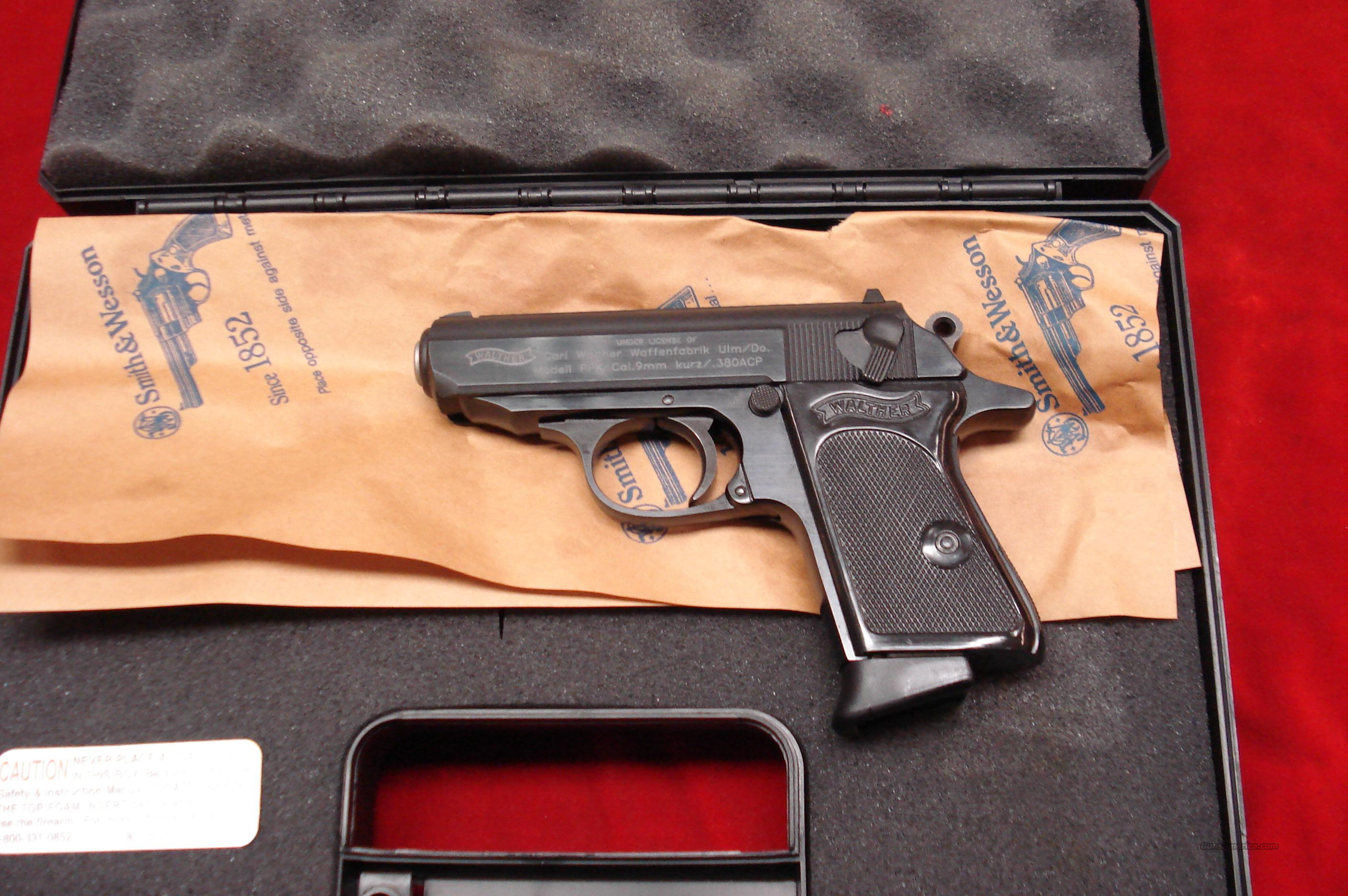 WALTHER PPK 380 CAL.BLUE NEW   Guns > Pistols > Walther Pistols > Post WWII > PP Series