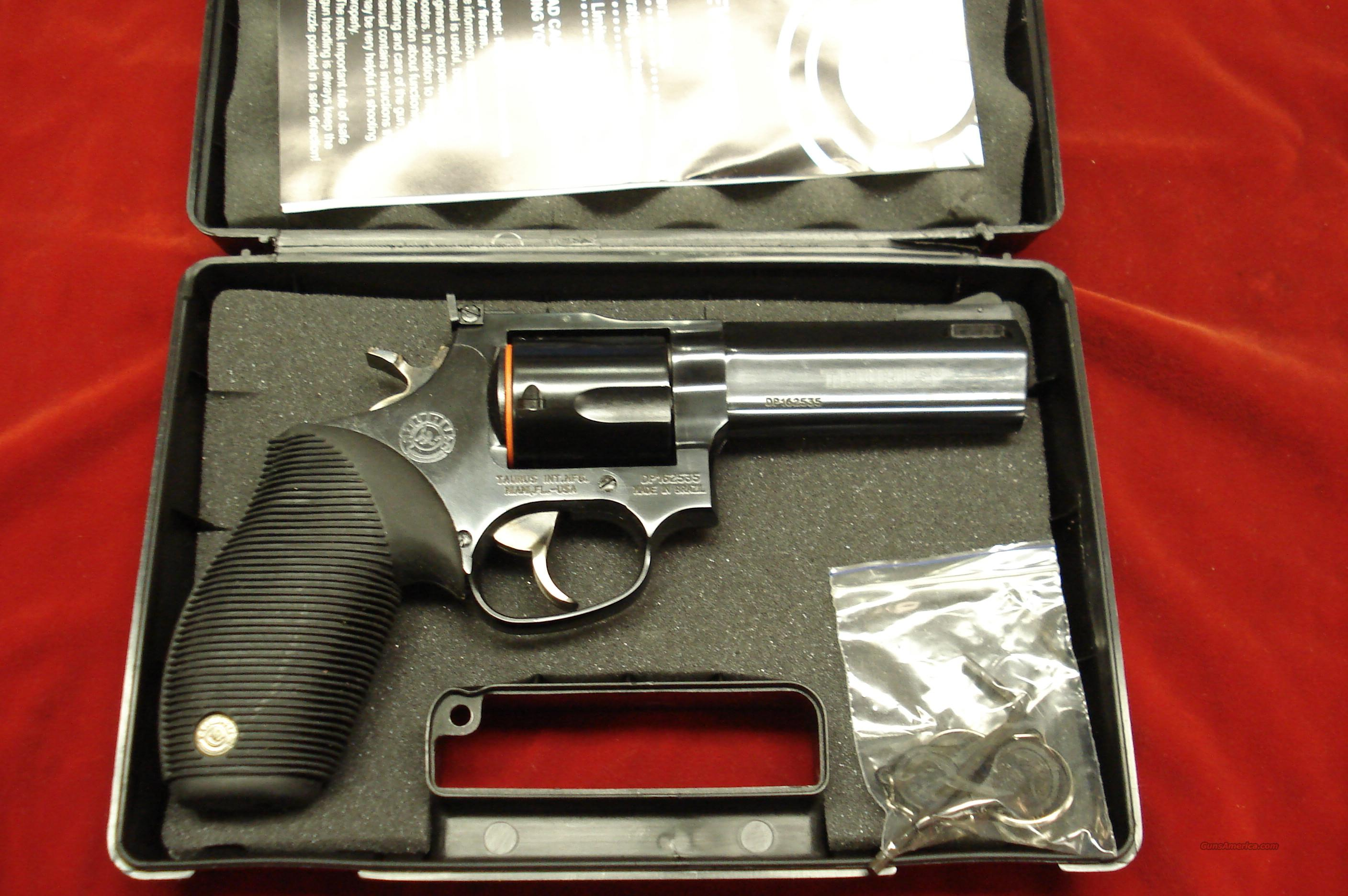 "TAURUS TRACKER MODEL M44C BLUE PORTED 4"" 44MAG. NEW   Guns > Pistols > Taurus Pistols/Revolvers > Revolvers"