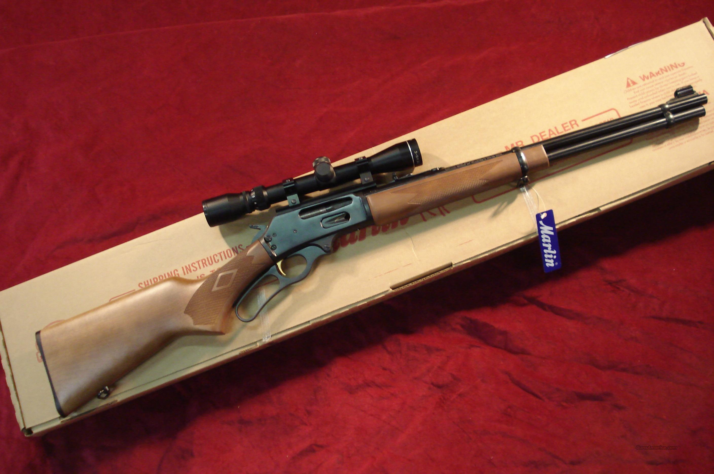 MARLIN 336W 30-30 CAL. SCOPE PACKAGE NEW  Guns > Rifles > Marlin Rifles > Modern > Lever Action