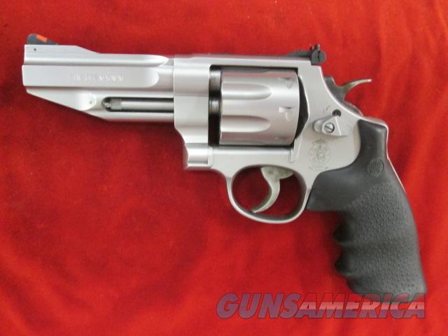 "SMITH AND WESSON MODEL 627 PRO SERIES 357MAG STAINLESS 4 1/8"" USED  Guns > Pistols > Smith & Wesson Revolvers > Performance Center"