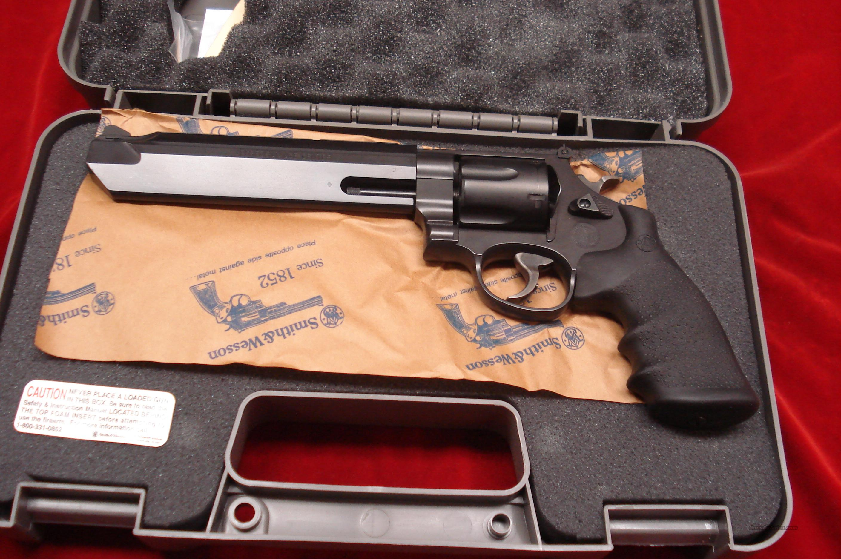 "SMITH AND WESSON PERFORMANCE CENTER MODEL 629 STELTH HUNTER 44 MAGNUM 7.5"" PORTED BLAKENED STAINLESS  NEW  Guns > Pistols > Smith & Wesson Revolvers > Performance Center"
