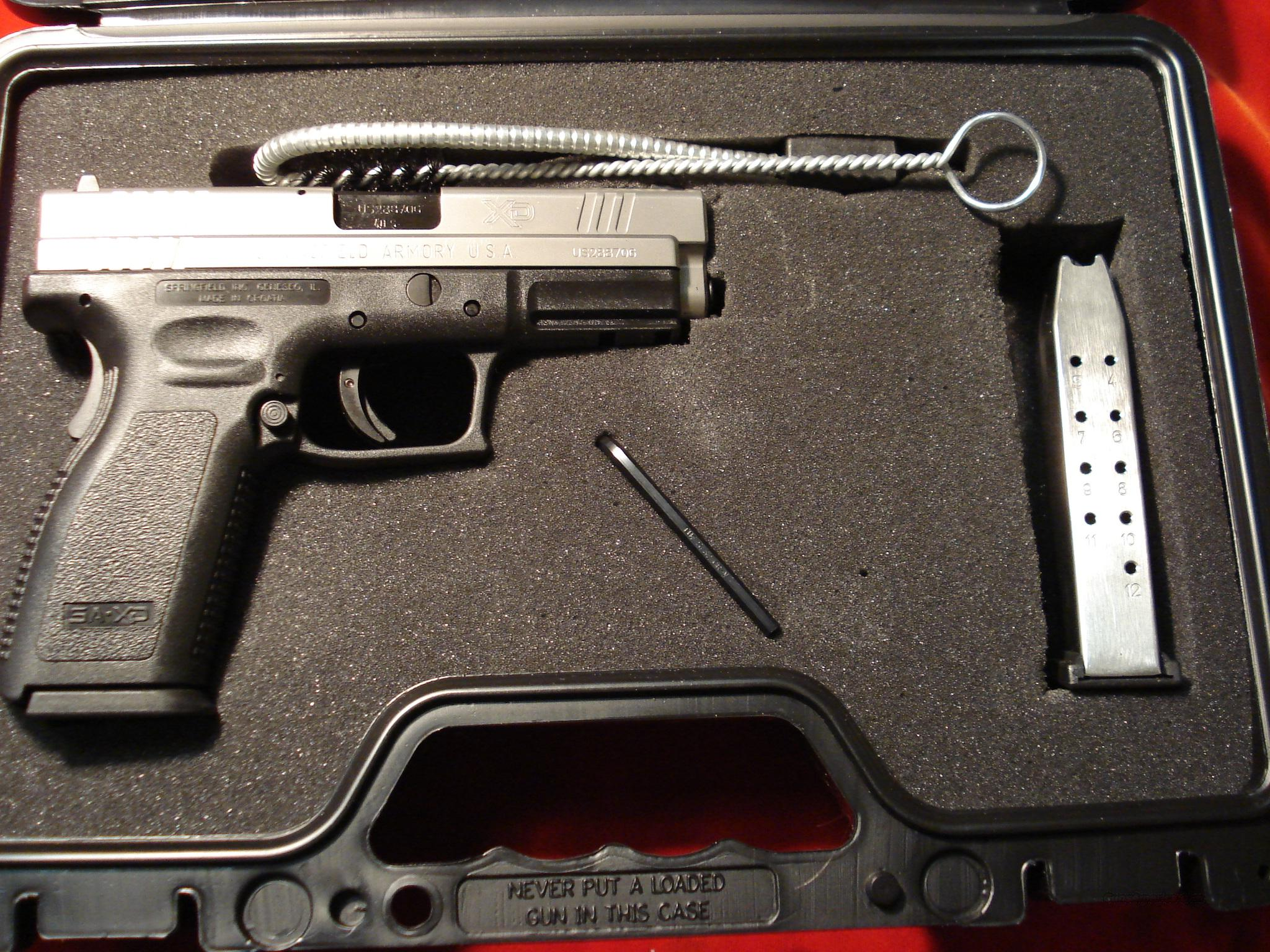 SPRINGFIELD ARMORY XD-40 BI-TONE HIGH CAP PACKAGE  Guns > Pistols > Springfield Armory Pistols > XD (eXtreme Duty)