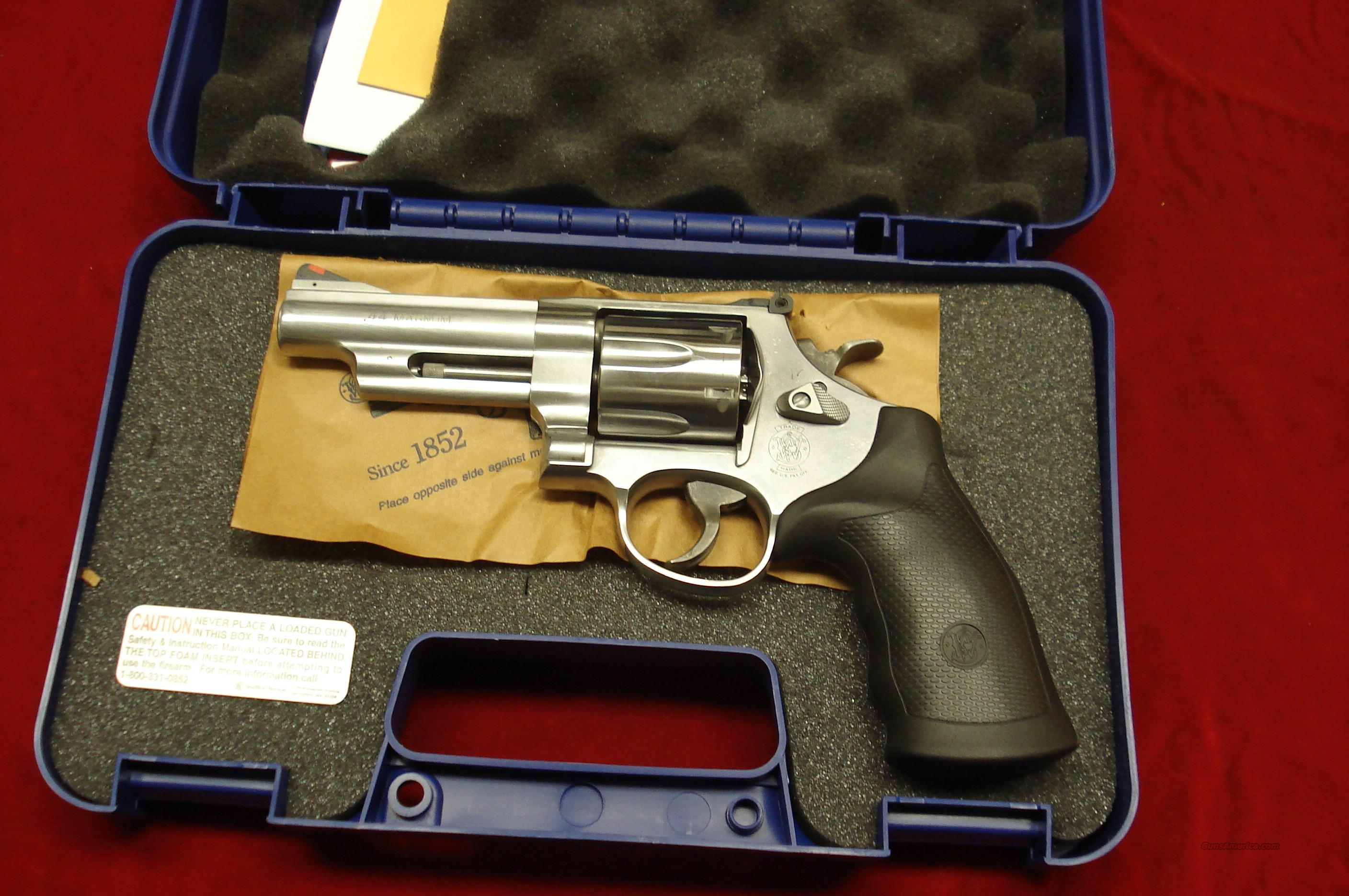 "SMITH AND WESSON MODEL 629 4"" 44MAG. NEW   (163603)  Guns > Pistols > Smith & Wesson Revolvers > Model 629"