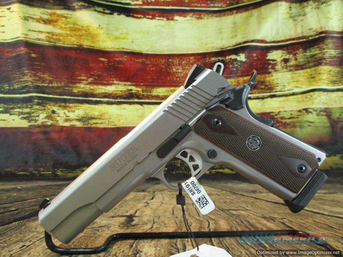 "Ruger SR1911 45 ACP Stainless 5"" New (06700)  Guns > Pistols > Ruger Semi-Auto Pistols > 1911"